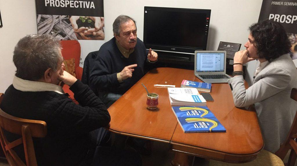 Lavagna Presidente: Duhalde, con Alfonsín, confirma su candidatura para el 2019