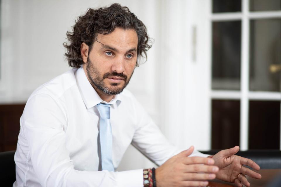 """Santiago Cafiero: """"Es inadmisible utilizar el dolor del crimen para sacar ventajas políticas"""""""