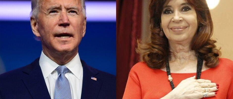 Con citas a Joe Biden, Cristina Kirchner defendió el papel del estado para reactivar la economía