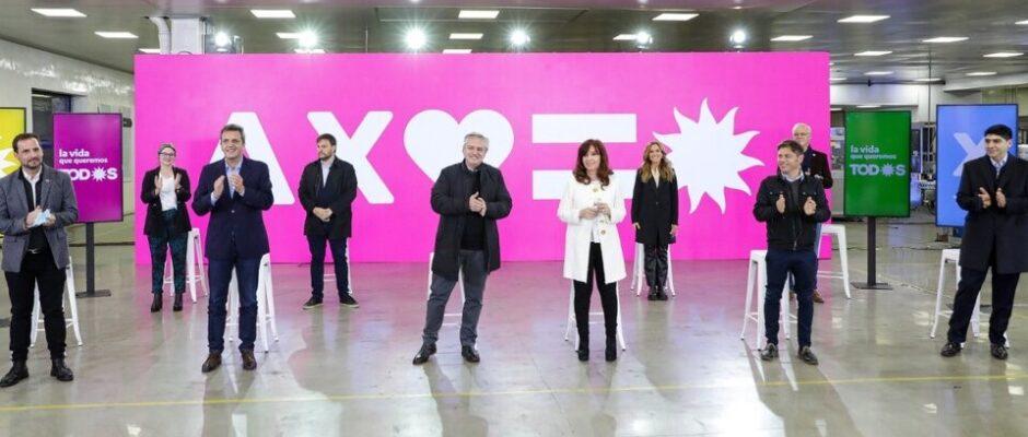 Alberto Fernández y Cristina Kirchner presentaron las listas del Frente de Todos: «Discutamos en serio cómo sacar al país después de la pandemia»